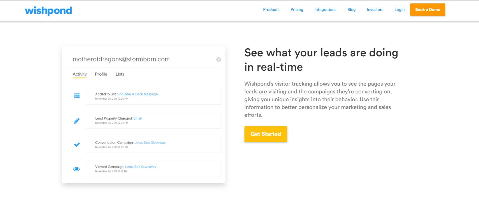 Wishpond Lead Database