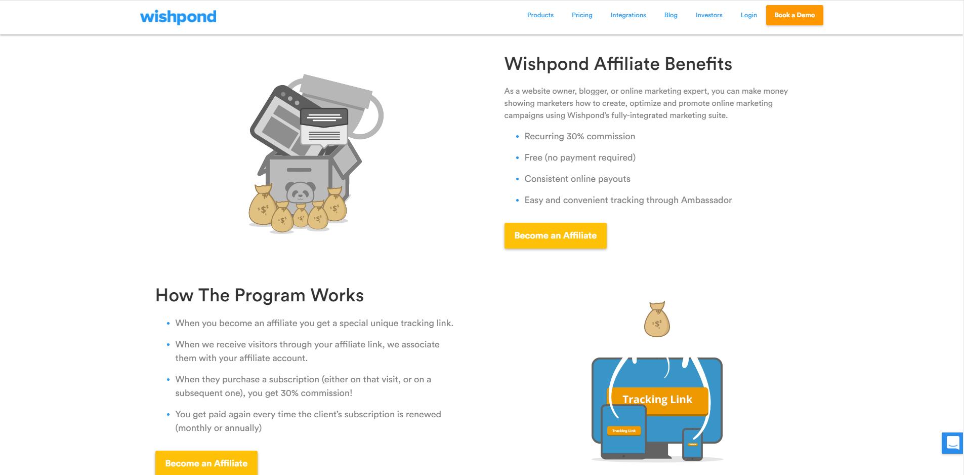 Wishpond affiliate